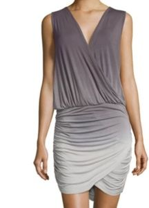 Young fabulous and broke sz S ruched fitted dress